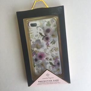 Nanette Lepore iPhone Case Flowers Rhinestones